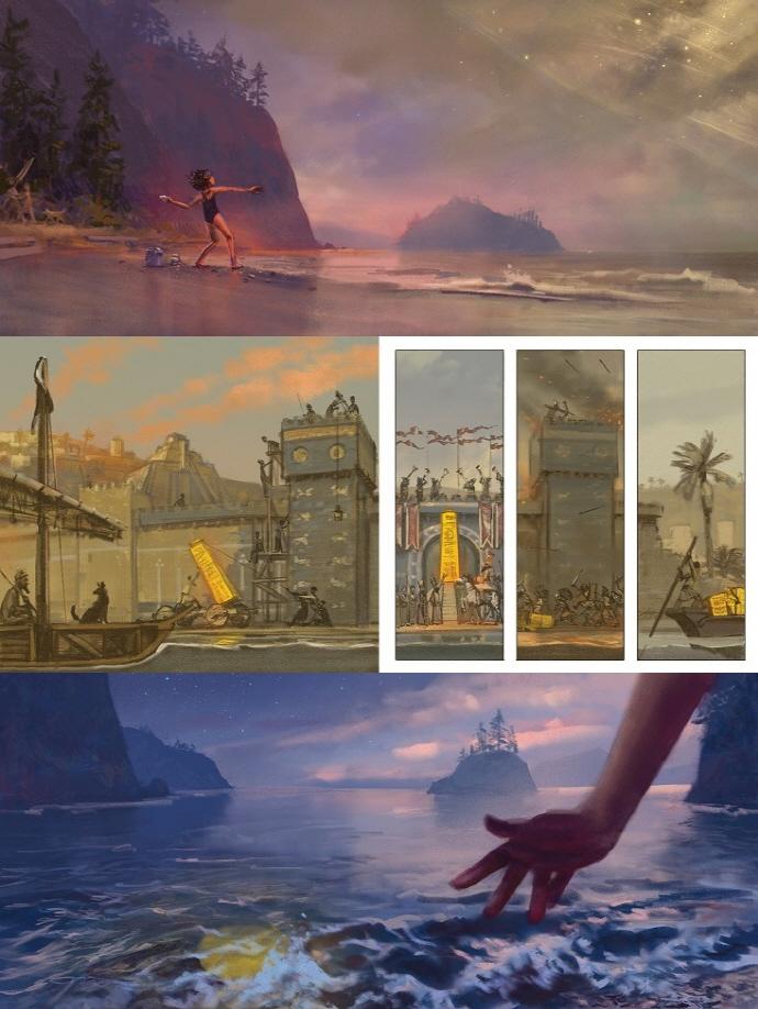 사샤의 돌(웅진 세계 그림책 180)(양장본 HardCover) 도서 상세이미지