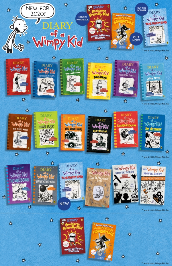 Diary of a Wimpy Kid: The Deep End (Book15) 도서 상세이미지