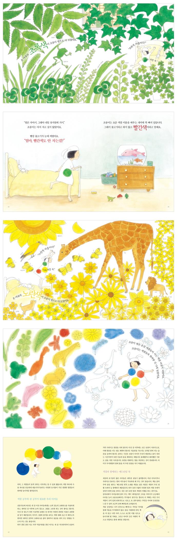 색깔이 궁금해(자연이 키우는 아이 5)(양장본 HardCover) 도서 상세이미지