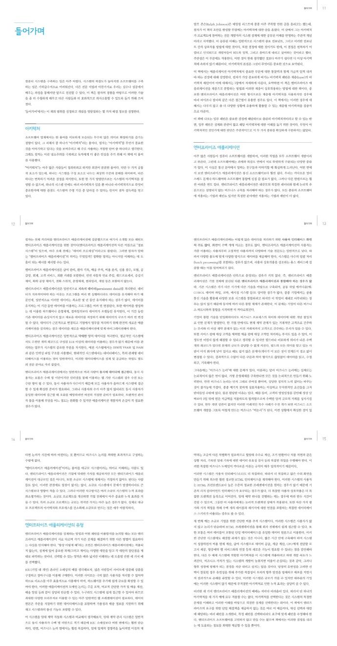 엔터프라이즈 애플리케이션 아키텍처 패턴(재출간판)(IT Leaders 24) 도서 상세이미지