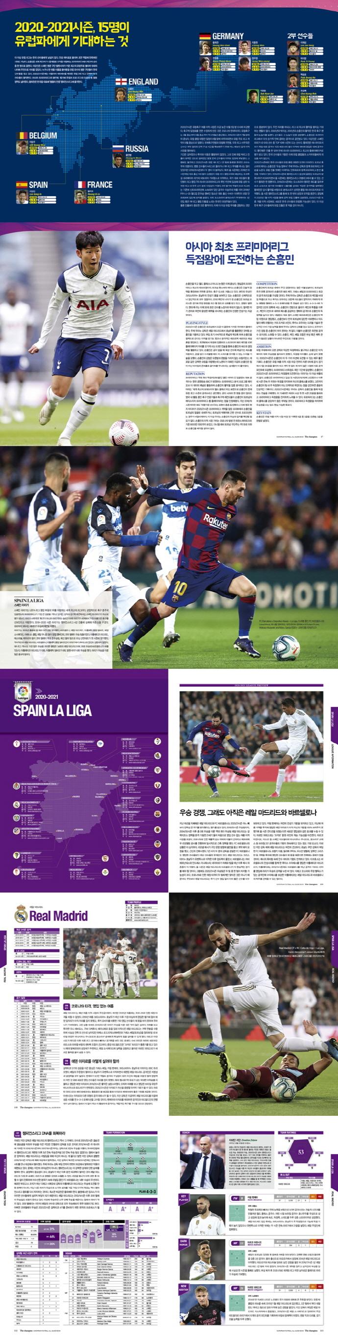더 챔피언(The Champion)(2020-2021): 유럽축구 가이드북 도서 상세이미지
