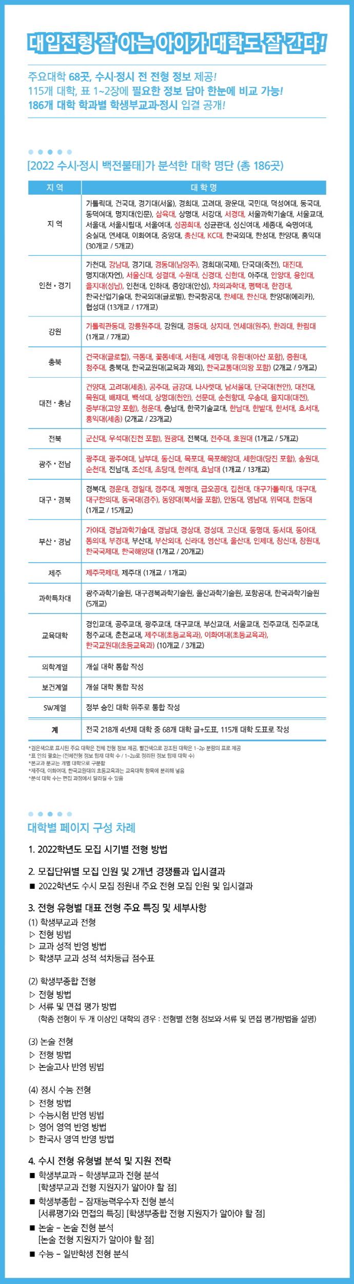 수시 정시 백전불태(2022) 도서 상세이미지