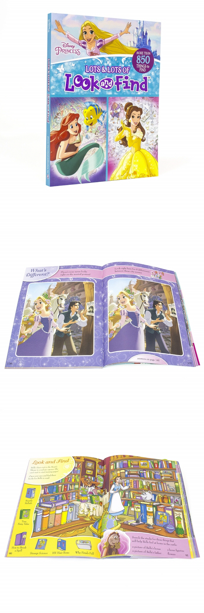 Disney Princess - Lots and Lots of Look and Find Activity Book 도서 상세이미지