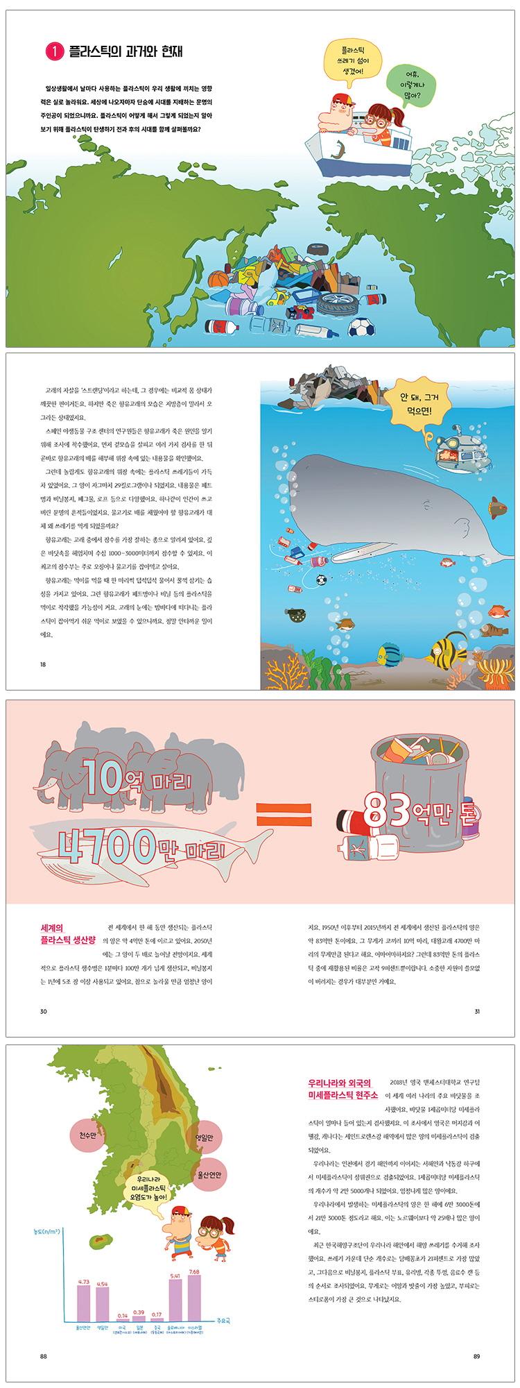 고래가 삼킨 플라스틱(풀과바람 환경생각 14) 도서 상세이미지