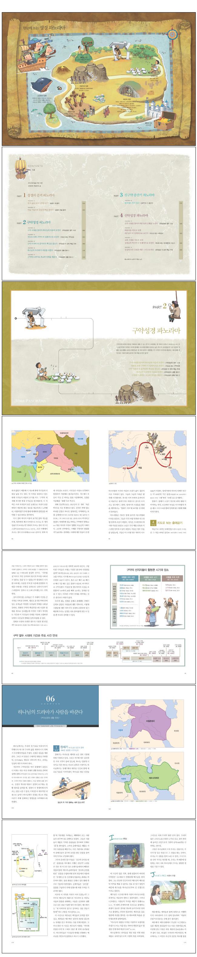 성경 파노라마(CD1장포함) 도서 상세이미지