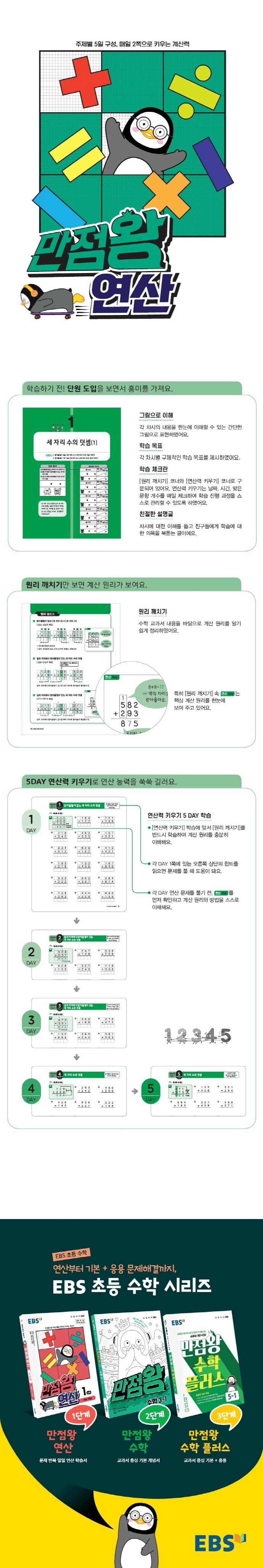 만점왕 연산 7단계(초등 4학년)(2021)(EBS) 도서 상세이미지
