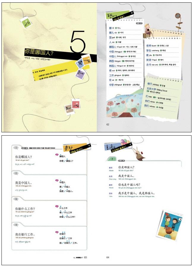 다락원 중국어 마스터. STEP 1(CD2장포함) 도서 상세이미지