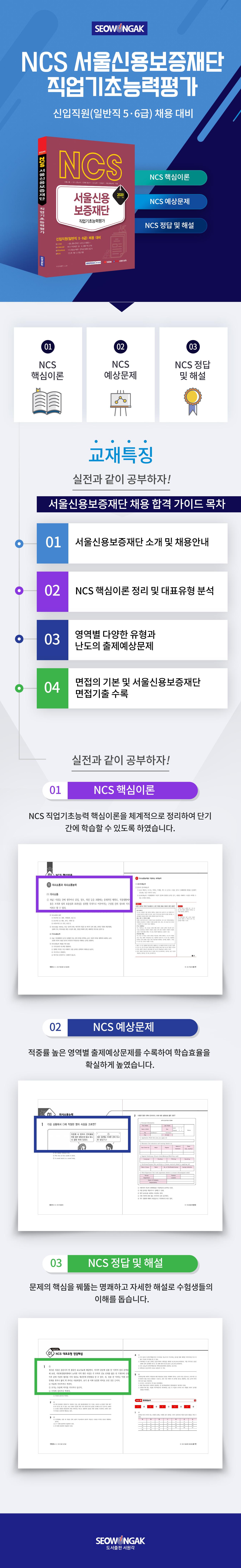 서울신용보증재단 직업기초능력평가(2020 하반기)(NCS) 도서 상세이미지