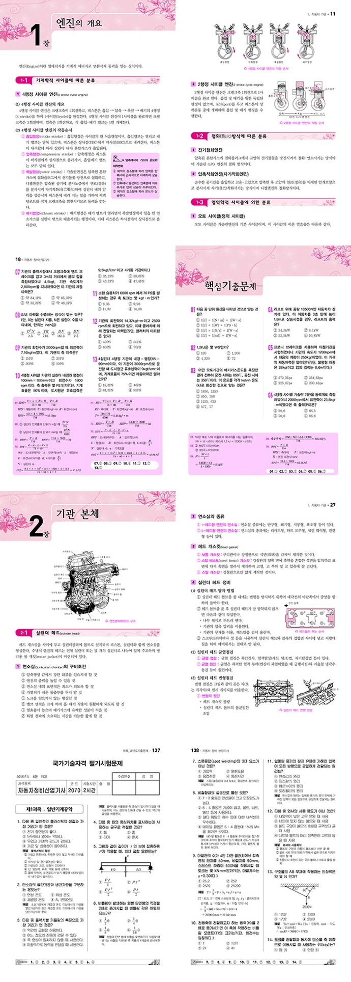 자동차정비산업기사 필기(2021)(Pass)(개정판) 도서 상세이미지