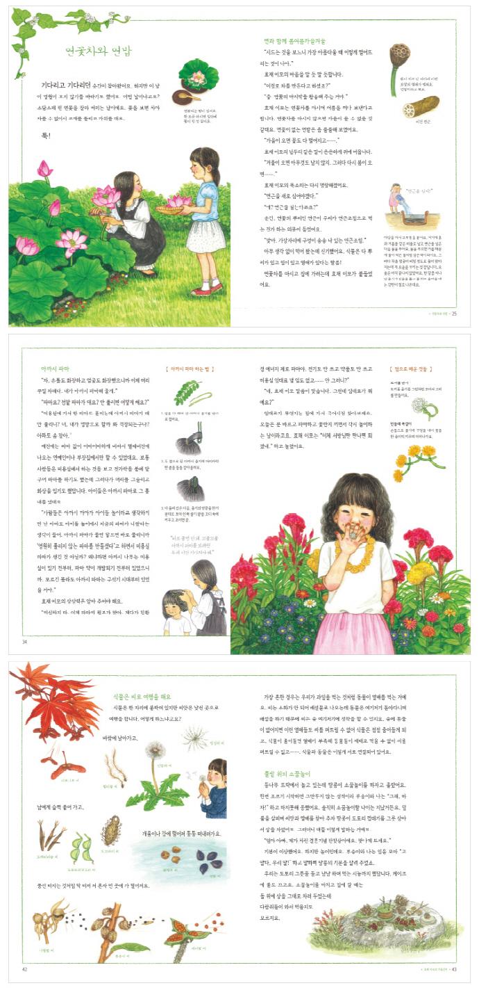 효재 이모의 사계절 뜰에서(아름다운 우리 생활 문화 2)(양장본 HardCover) 도서 상세이미지