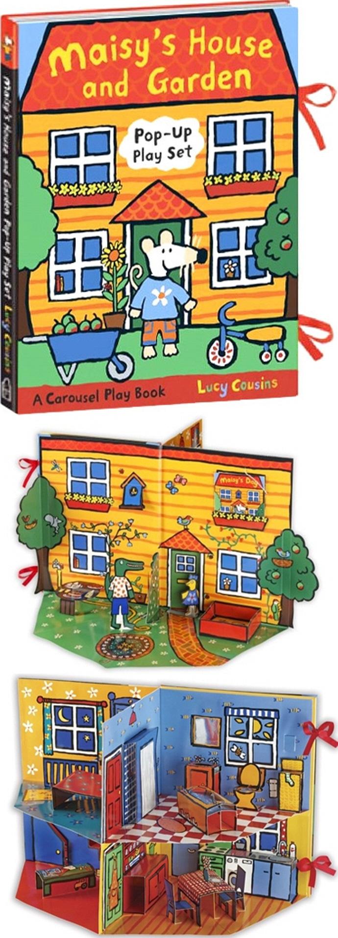 Maisy's House and Garden 메이지 하우스 앤 가든 팝업북 도서 상세이미지