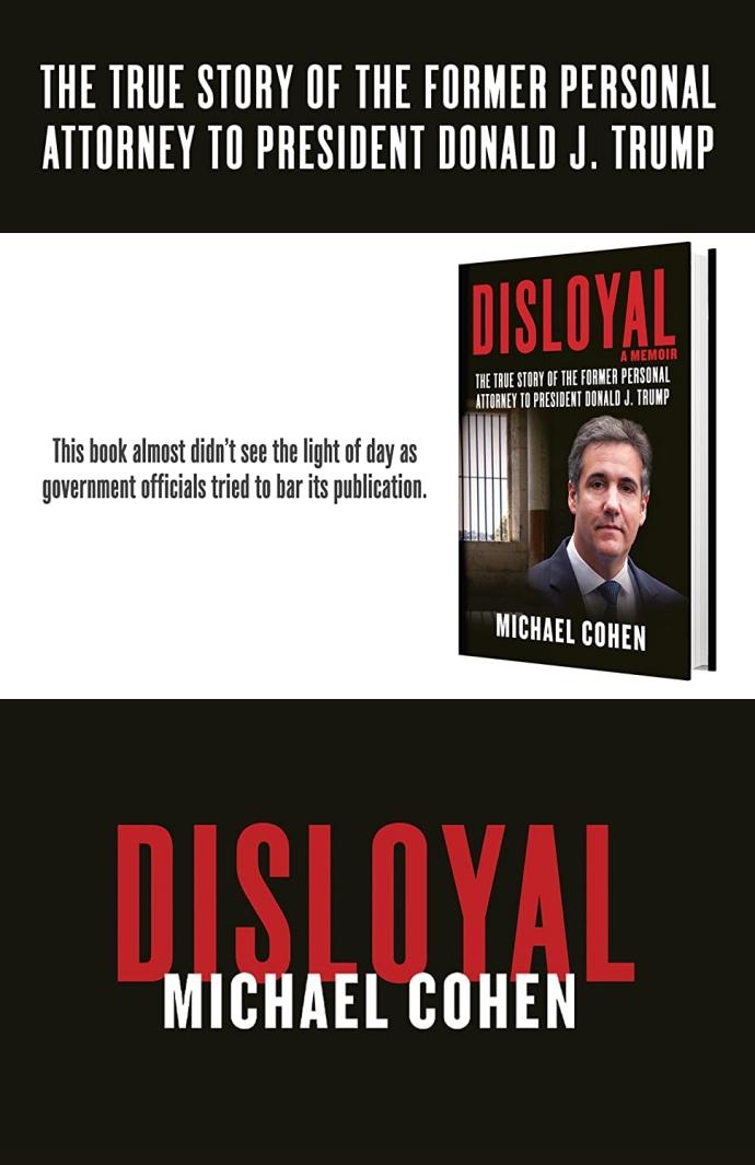 Disloyal: A Memoir 도서 상세이미지