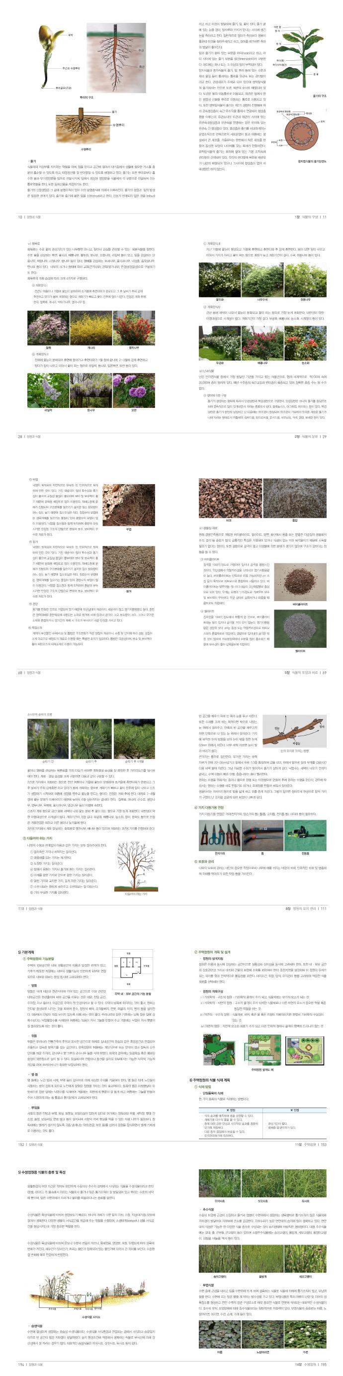 정원과 식물(개정판) 도서 상세이미지