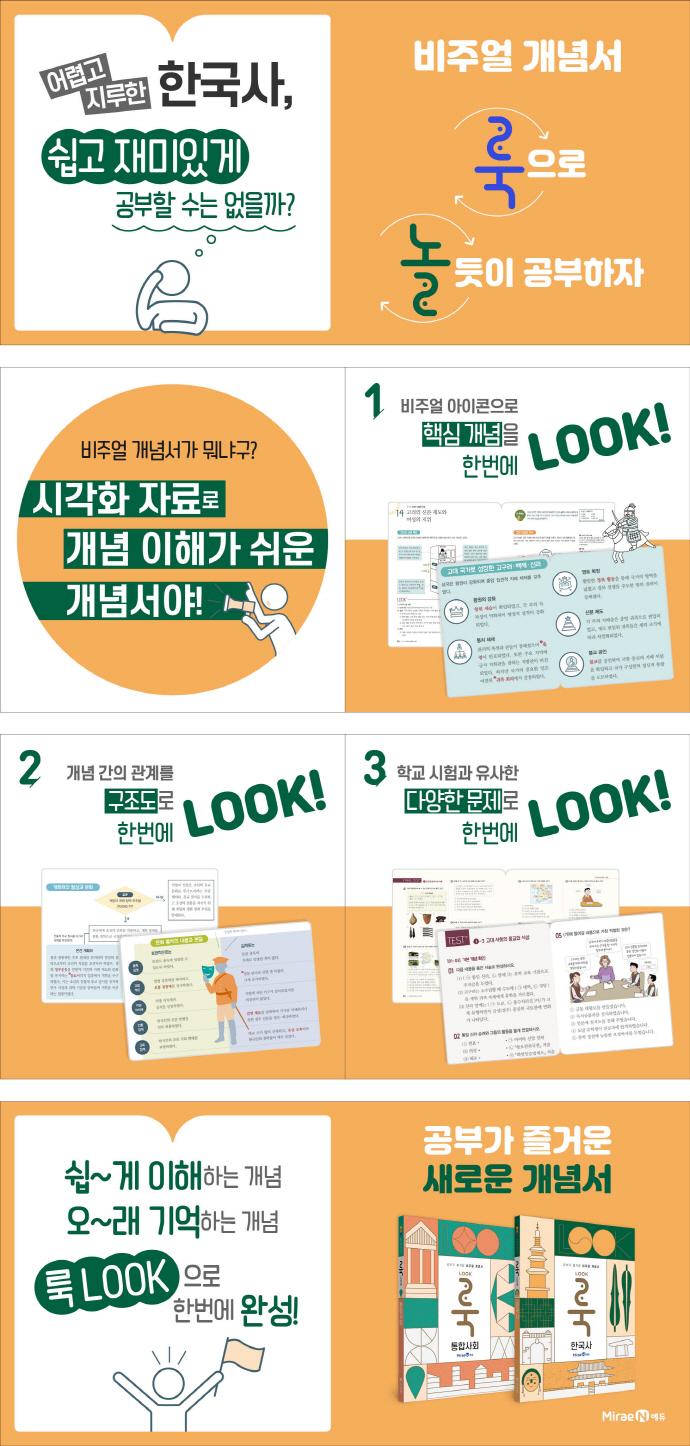 고등 한국사(2021)(룩Look) 도서 상세이미지