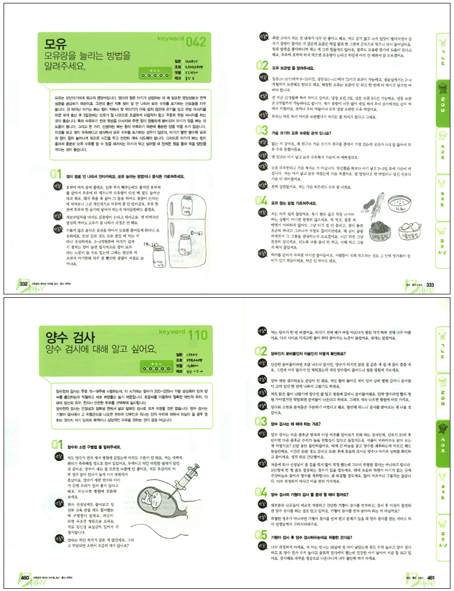 베이비 바이블: 임신출산대백과(지후맘의) 도서 상세이미지
