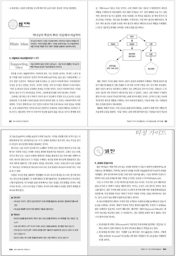 역대상 하(MAIN IDEA로 푸는)(메인 아이디어 시리즈 20)(양장본 HardCover) 도서 상세이미지