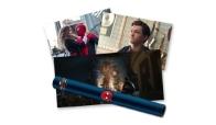 마블 스파이더맨: 파 프롬 홈 포스터 컬렉션(지관통, 5+1장)