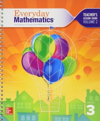 Everyday Mathematics 4, Grade 3, Teacher Lesson Guide, Volume 2    4th