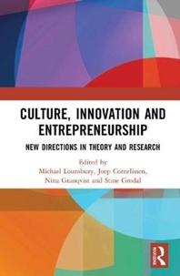 Culture, Innovation and Entrepreneurship