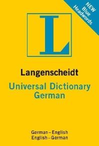 Langenscheidt Universal Dictionary German