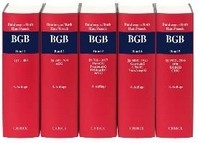 Kommentar zum Buergerlichen Gesetzbuch. Gesamtwerk. 4 Baende