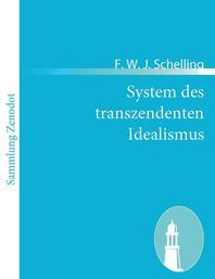 System des transzendenten Idealismus