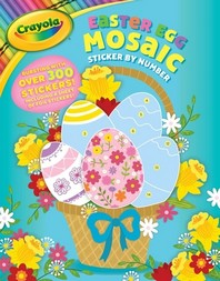 Crayola Easter Egg Mosaic Sticker by Number