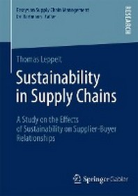 Sustainability in Supply Chains
