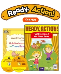 Pack-Ready Action 2E (Starter): Golditwins and the Three Bears[SB+WB+CD]