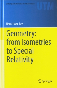 Geometry: From Isometries to Special Relativity
