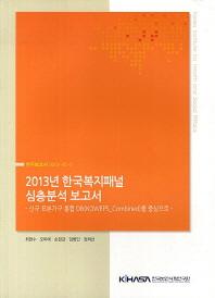 한국복지패널 심층분석 보고서(2013)