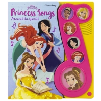 Disney Princess - Princess Songs Around the World Sound Book - Pi Kids
