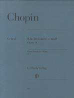 쇼팽 피아노소나타 OP. 4(942)