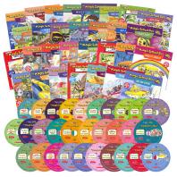 매직스쿨버스(The Magic School Bus) 리더스북 30종 전체 세트(B+CD)