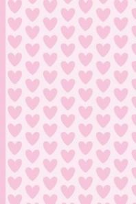 Pink Heart Pattern, Valentine's Day Love