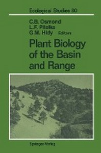Plant Biology of the Basin and Range