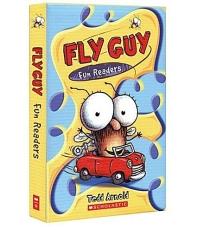 Fly Guy Fun Readers Box Set (5 Paperbacks+CD) 플라이 가이 펀 리더 5권 세트