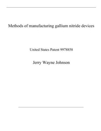 Methods of manufacturing gallium nitride devices