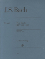 바흐 4개의듀엣(1161)