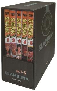 슬램덩크 오리지널 박스판 세트(1-5권)