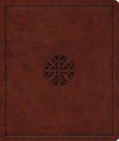 ESV Journaling Bible (Trutone, Brown, Mosaic Cross Design)