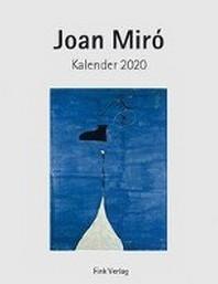 Joan Miro 2020. Kunstkarten-Einsteckkalender