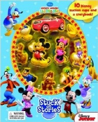 DISNEY MICKEY CLUBHOUSE STUCK ON STORIES