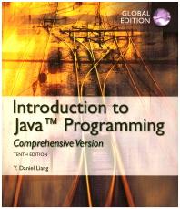 Intro to Java Programming, Comprehensive Version, Global Edition