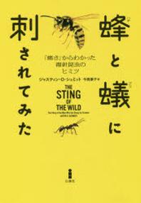 蜂と蟻に刺されてみた 「痛さ」からわかった毒針昆蟲のヒミツ
