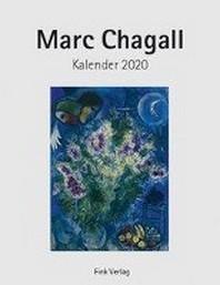 Marc Chagall 2020. Kunstkarten-Einsteckkalender