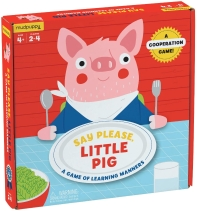 Mudpuppy Say Please Little Pig Board Game