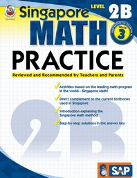 Singapore Math Practice, Level 2B Grade 3