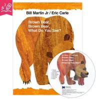 노부영 세이펜 Brown Bear, Brown Bear, What Do You See? (원서 & CD)