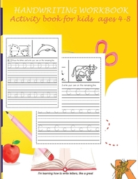 handwriting workbook activity book for kids ages 4 -8